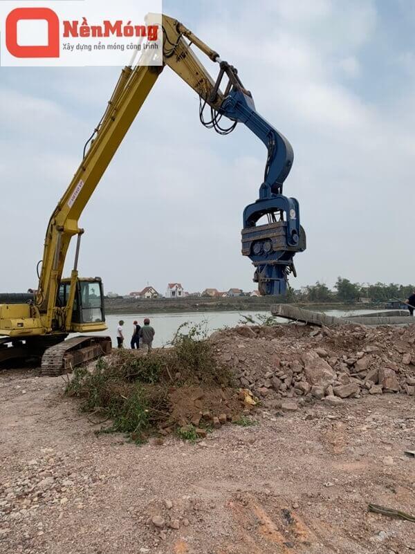 Dự án cầu cảng thị xã Chí Linh, Hải Dương-1