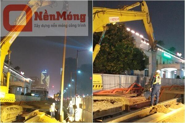 Dự án hầm chui Lê Văn Lương