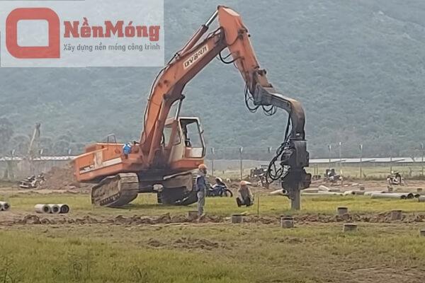 Dịch vụ đóng cọc bê tông tại Hà Nội - 0961394633