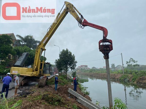 Đóng cọc BTCT dự án Sun Marina Hạ Long